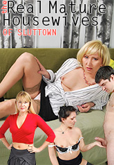 The Real Mature Housewives of Slut Town 01