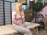 Hot Blond Angelina Massage And Fuck