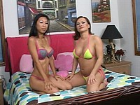 Jerked Off By Two Sexy Sluts