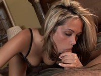 Hot Ass Blond Jenny Sucks And Strokes A Cock