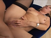 Blond Slut Milf Kelly Gets Ass Fucked