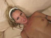 Blonde Teen Babe Fucked at Work