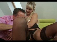 Busty Euro Blond Ass Fucked