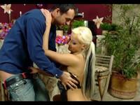 Petite European Blond Babe Handjob