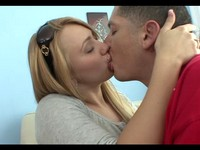 Big Butt Blonde Teen Fuck and Facial