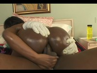Big Tit Ebony Slut Jada Ass Fucked