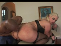 Big Ass Blonde Interracial Anal