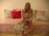 Busty Blonde Jana