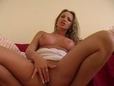 Euro Blonde Babe Olga Solo