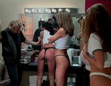 Wet T-Shirt Models Spanked 01, Scene 4