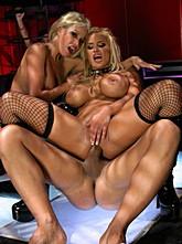 Shyla Styles and Gina Lynn Threesome