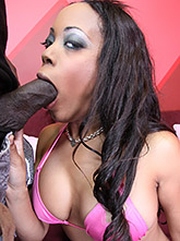 Ebony Babe Sandra Fucked By Big Cock