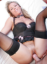 Blond Milf Kayla Gets Ass Fucked