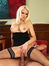 Blonde Babe Stacy Fucks