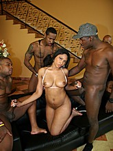 Carmen's Black Cock Blow-Bang