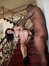 Liza Ass Fucked By Big Black Cock
