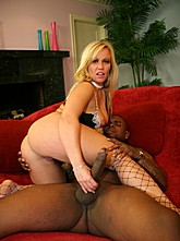 Thick Milf Austin Loves Black Cock